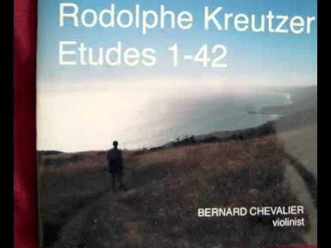 Etude #7 for solo violin by Rodolphe Kreutzer (1766-1831)