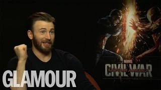 Chris Evans talks Tinder, Dick Pics and Dating Advice | Glamour UK