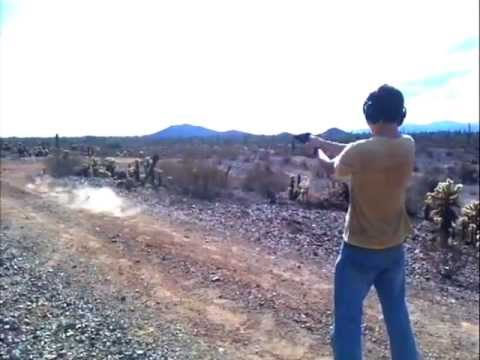 Shooting the taurus Judge .45 cal 410 gauge shotgun shells with birdshot