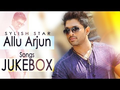 Allu Arjun Romantic Hit Songs  Jukebox