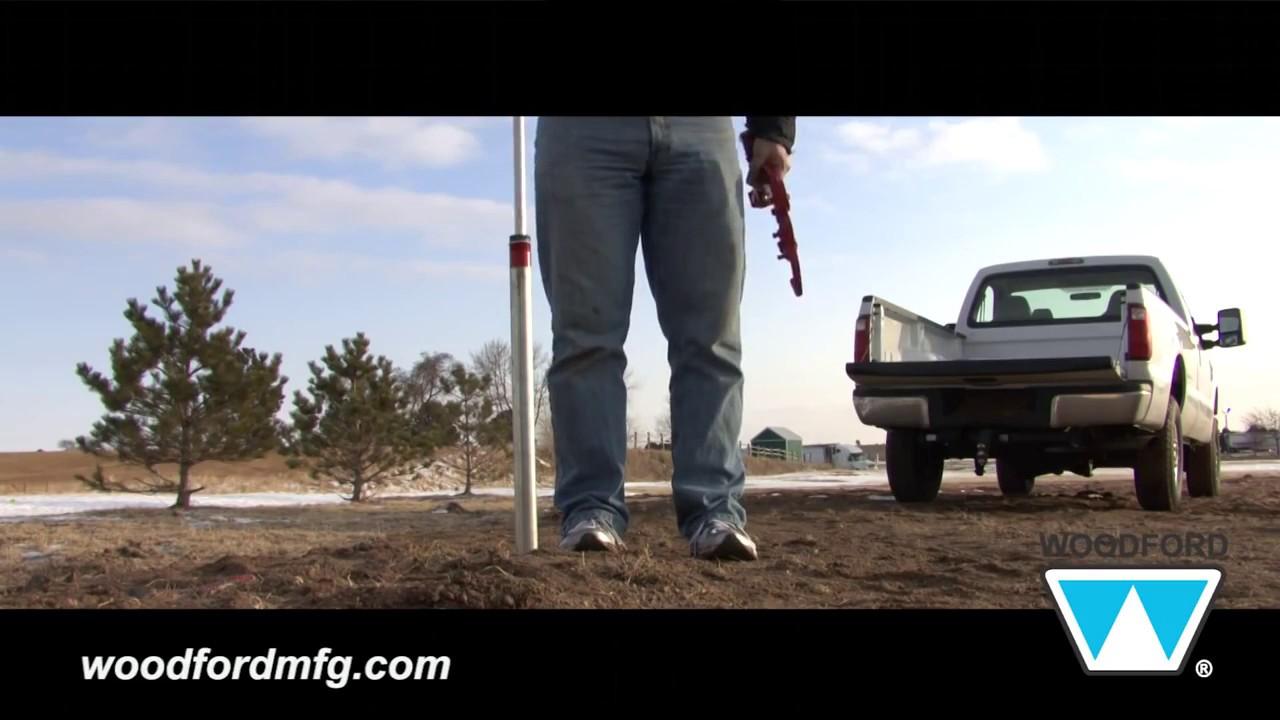 How to Repair a Woodford Y34 Iowa Yard Hydrant - YouTube