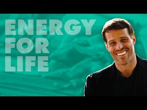 Tony Robbins' Secret to Energy for Life