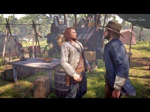Sean Attacks Kieran / Hidden Dialogue / Red Dead Redemption 2 thumbnail