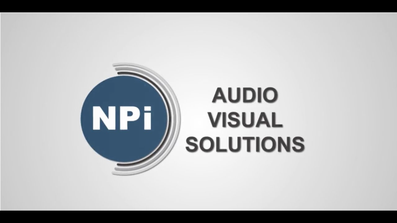NPI VIRTUAL EVENT PRESENTER DEMO