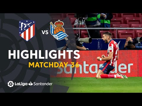 Atletico Madrid Real Sociedad Goals And Highlights