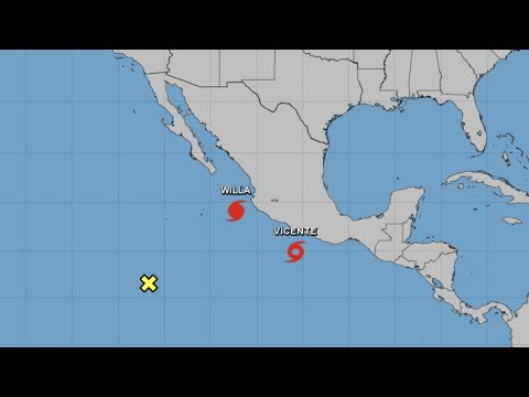 Hurricane Willa becomes Category 5 storm off Mexico