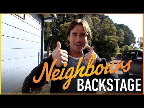 Neighbours Backstage  Kip Gamblin Brad Willis