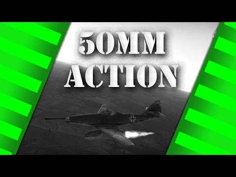 WarThunder - 50mm Caliber Me262 - Arcade Gameplay
