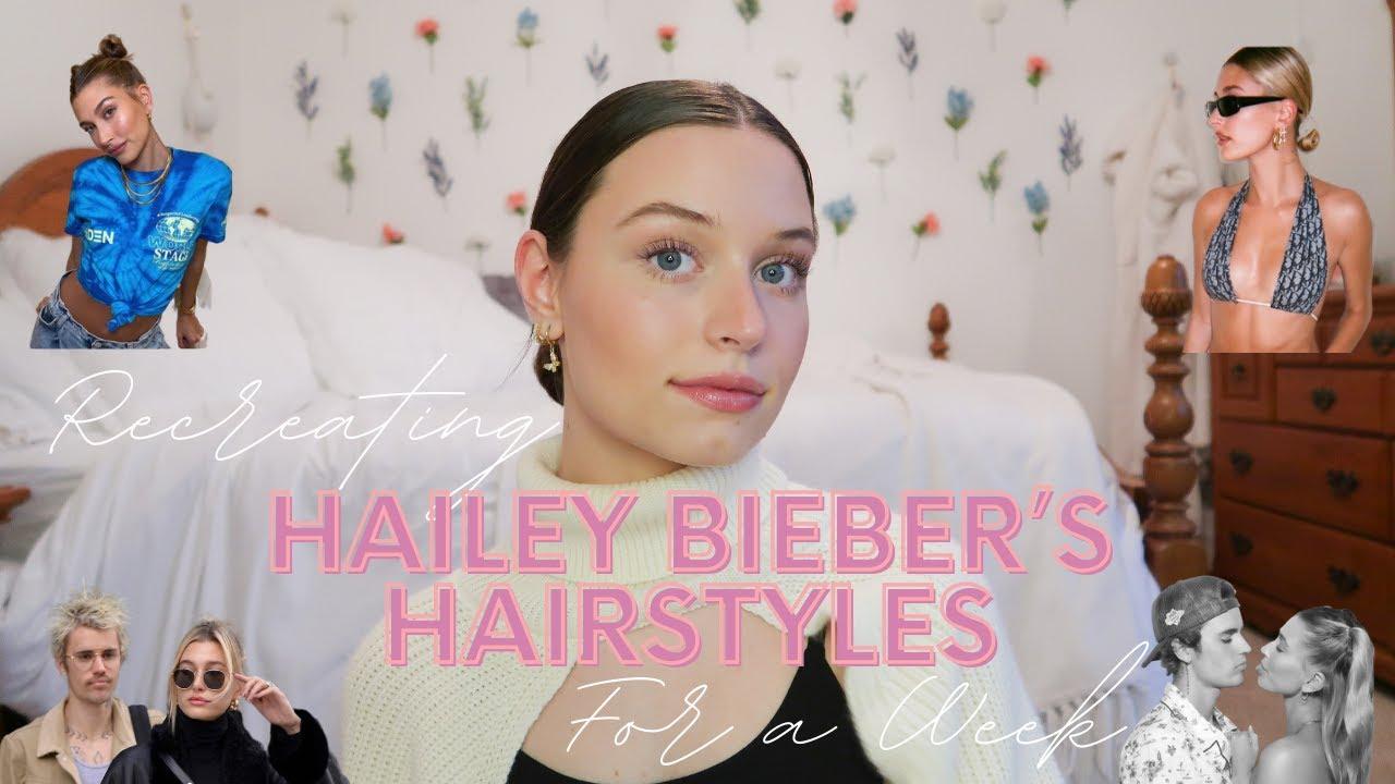Hailey Baldwin's Brown Hair Makeover - Photos