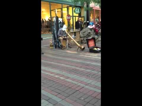 Burlington Vermont didgeridoo music