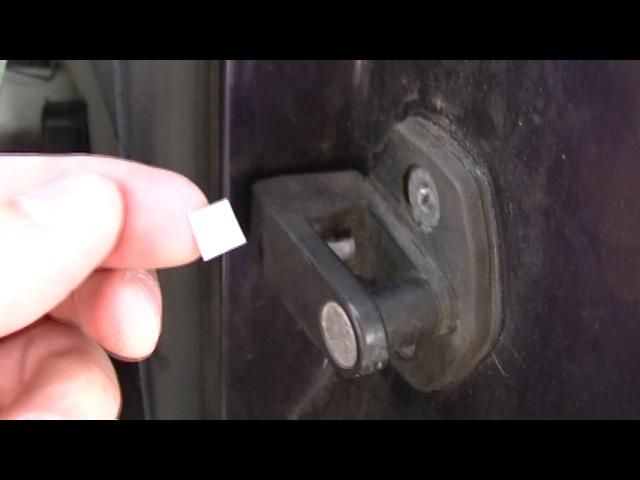 Bmw M3 E36 Coupe Door Striker Sensor Switch Temporary Fix Youtube