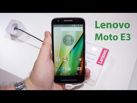 Lenovo Moto E 3. Generation im Kurztest | deutsch
