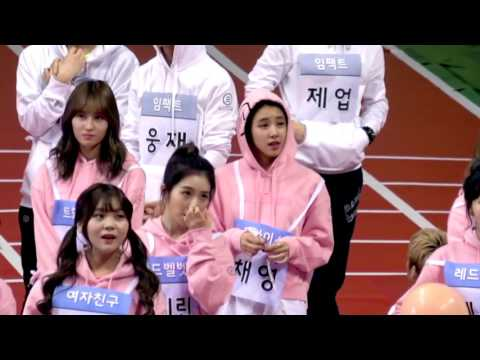 All The TWICE Moments #2 @ 2017 ISAC (Idol Star Athletics Championships)