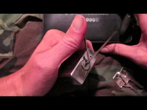 Brinks 102 Shrouded Padlock 45mm Picked Open...Thanks ejlockpix