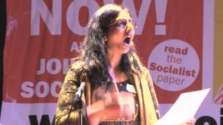 Kshama Sawant speech at Socialism 2014