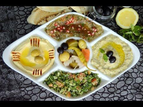 Arabic Mezze Platter