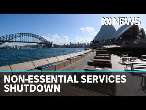 Coronavirus: NSW, Victoria move to comprehensive shutdown of non-essential services   ABC News