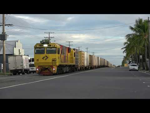 Street running Train! Fri-Sun Timetable for Denison Street in Rockhampton, Australia