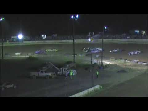 Hesston speedway semi late feature mishap