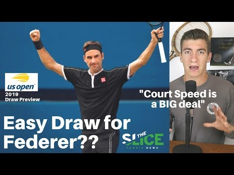 US Open 2019 DRAW Breakdown + Predictions | THE SLICE