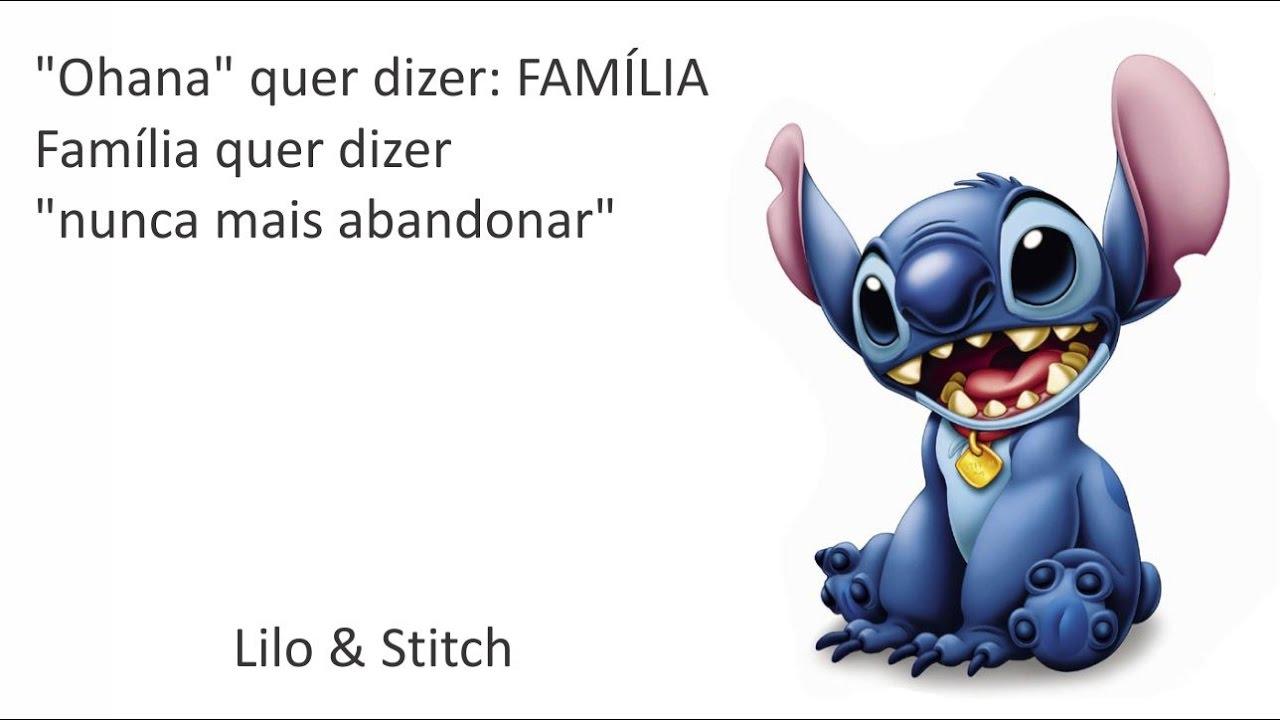Lilo Stitch Ohana Youtube