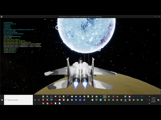 Atlantica Worlds Pre-Alpha Space Opera Game in Unreal Engine 5 [UE5]