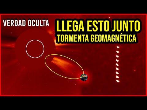 LLEGA ESTO JUNTO TORMENTA GEOMAGNÉTICA