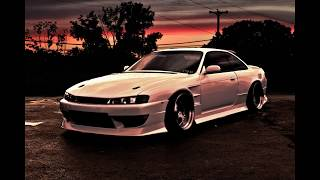 homepage tile video photo for 240sx S14 sunset speed edit