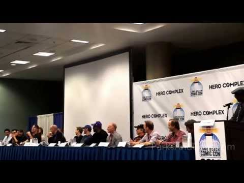HD 2014 Young Justice Reunion Panel Long Beach Comic Con
