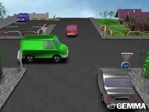 Autoškola (križovatky) - Driving school (crossroads)