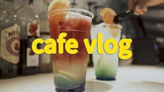 [Eng] cafe vlog / dessert cafe…