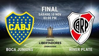 Boca River Libertadores Superclasico Suspendido
