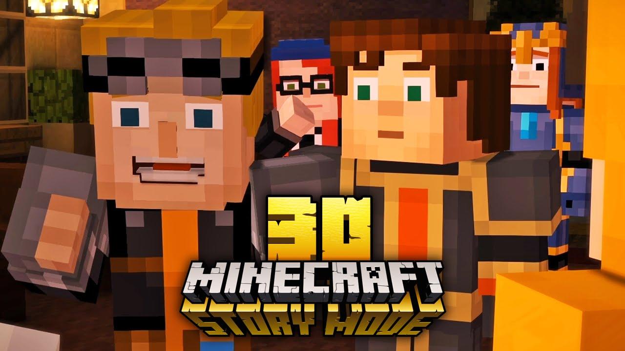 MINECRAFT STORY MODE Einer Von Uns Ist Der Mörder YouTube - Minecraft hauser gronkh