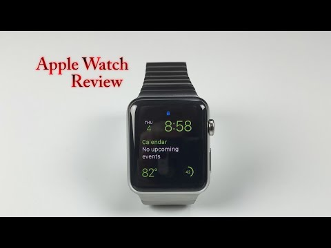 Apple Watch review apple iwatch stainless steel unboxing and reveal