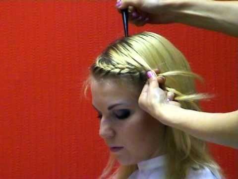 Скачать видео прически с плетением онлайн