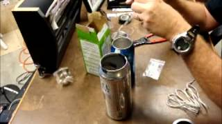 How to Make a Beer Can Microphone