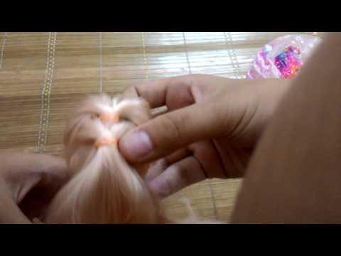 Kiểu tóc đẹp mà đơn gian dành cho búp bê