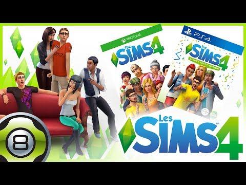 Découverte des Sims 4 sur console 😍 (Xbox One / PS4)