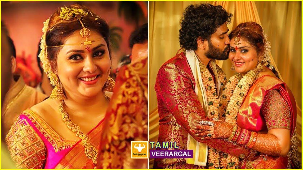 Actress Namitha Marriage And Reception Photos Video South Indian