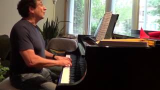 Trasnochando - Tango - Izak Matatya, piano