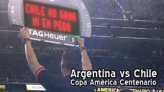 Argentina vs. Chile - Copa América Centenario