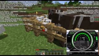 EVGA GTX 1060 6 Gb Review in Minecraft. Stock and mod packs.