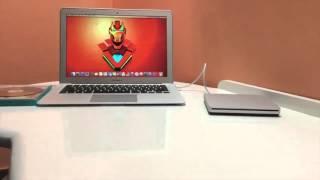  Apple USB SuperDrive Unboxing and Setup! | The Techonomics
