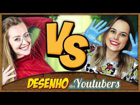 Dany Vs Jessika   Desenho dos Youtubers   Especial 200K