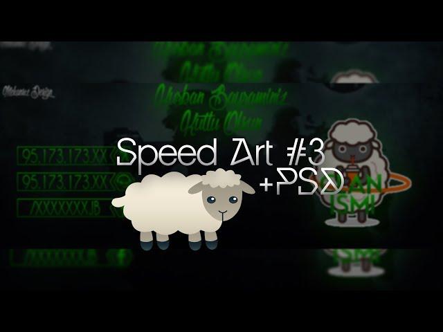 Kurban Bayram? Özel Banner #SpeedArt 3 +PSD