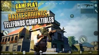 PLAYERUNKNOWNS BATTLEGROUNDS (PUBG) OFICIAL PARA ANDROID NUEVO GAMEPLAY Y DISPOSITIVOS COMPATIBLES