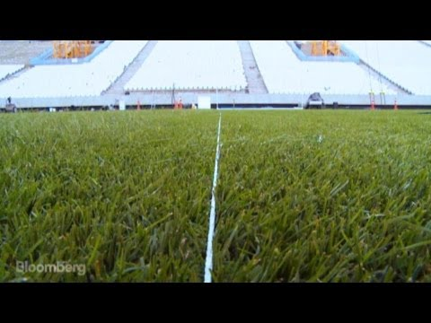 World-Class Hybrid Grass for the World Cup
