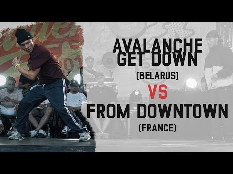 Avalanche Get Down (Belarus) vs From Downtown (France) | Group B | Warsaw Challenge 2018