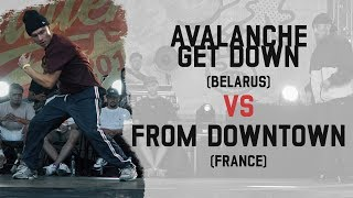 Avalanche Get Down vs From Downtown - Grupa B na Warsaw Challenge 2018