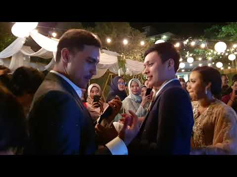 Raisa Cover Can't Help Falling In Love At Nindy & Luthfi Wedding